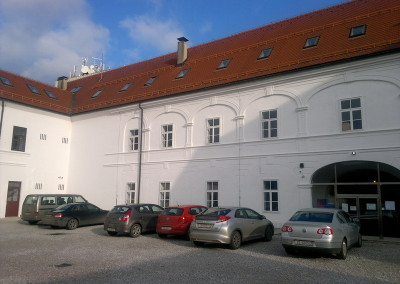 Glazbena škola Varaždin - uređenje unutrašnje fasade (1)
