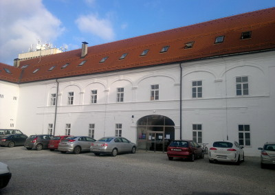 Glazbena škola Varaždin - uređenje unutrašnje fasade (2)
