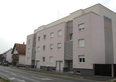 Poslovno – stambena zgrada – Varaždin, K. Filića