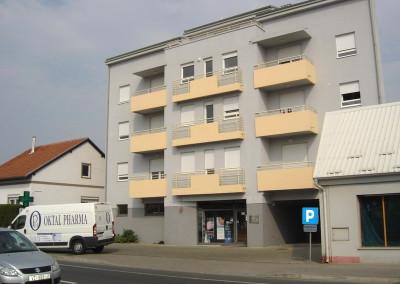 Poslovno - stambena zgrada - Varaždin, Optujska (2)