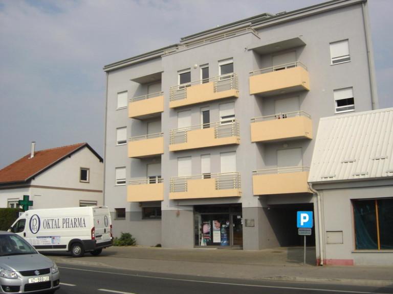 Poslovno – stambena zgrada – Varaždin, Optujska
