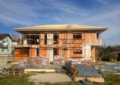 Obiteljska kuća – Bolfek – u izgradnji